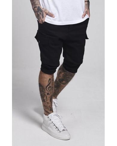 Sik Silk Bermuda Cargo Shorts