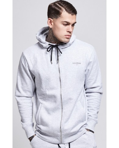 Illusive London Neck Zip Hoodie