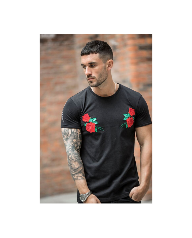 Rose London Emroided Tee