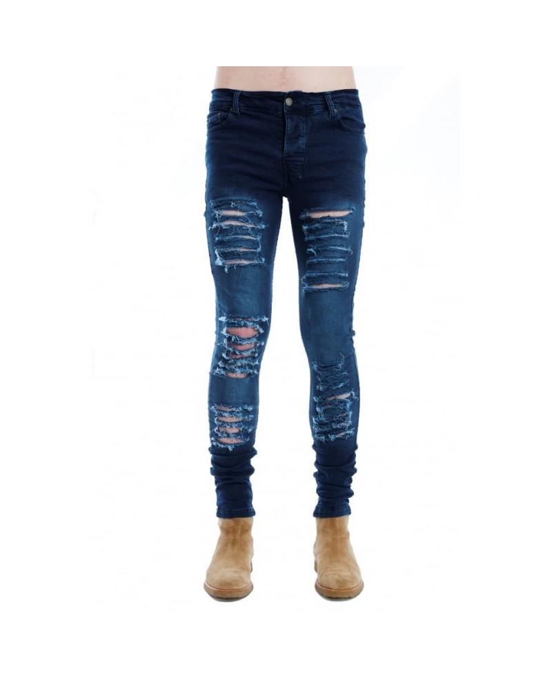 OtherUK Destroyed Jeans Midnight Blue