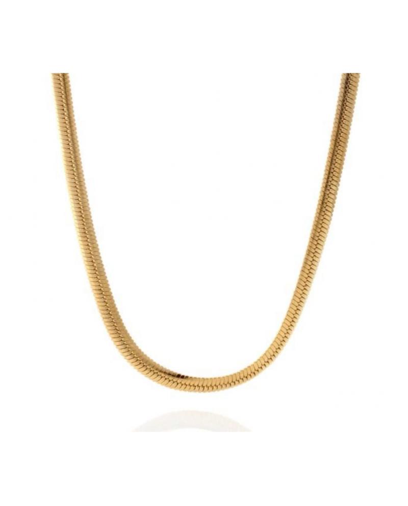 King Ice 14K Thick Herringbone Chain