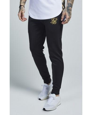 Sik Silk Poly Tricot Cuff Pants