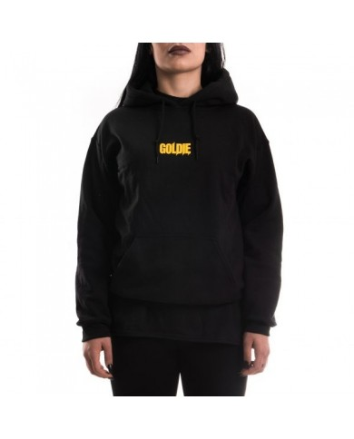Goldie Merch Hoodie Black/Orange