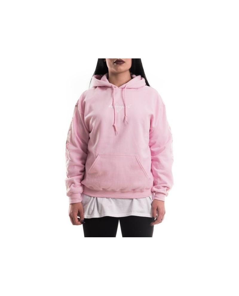 Goldie Merch Hoodie Baby Pink