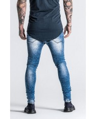 Gianni Kavanagh Blue Acid Jeans