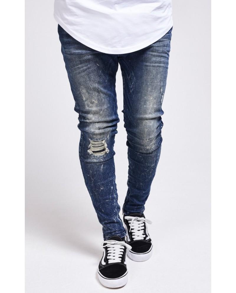 Sik Silk Acid Fight Hareem Jeans