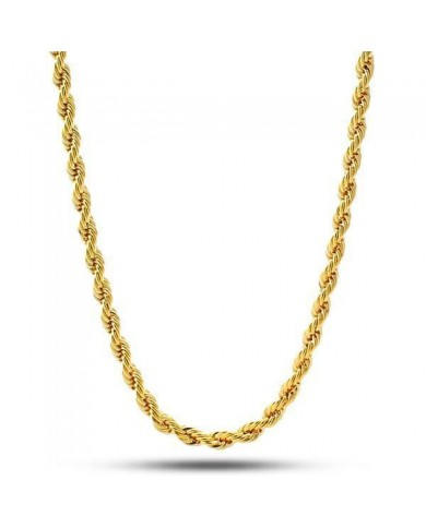 King Ice 10mm 14k Dookie Rope Chain
