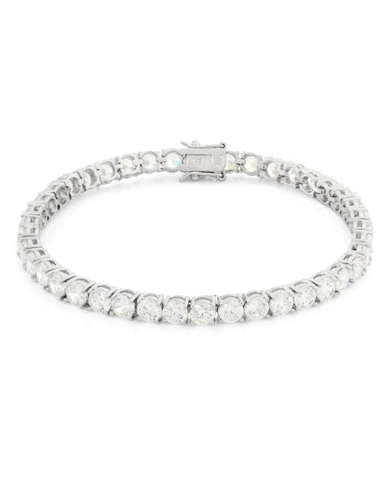 King Ice Single Row CZ Pharaoh Bracelet