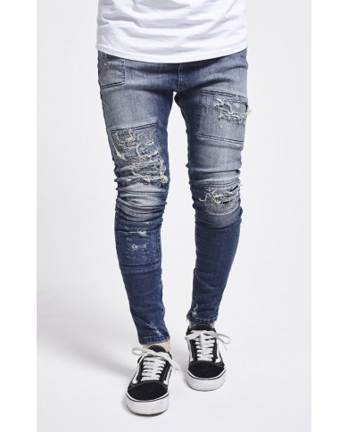 Sik Silk Drop Crotch Denims