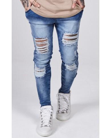 Sik Silk Distressed Skinny Denims