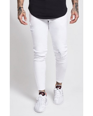 Sik Silk Skinny Distressed Denim