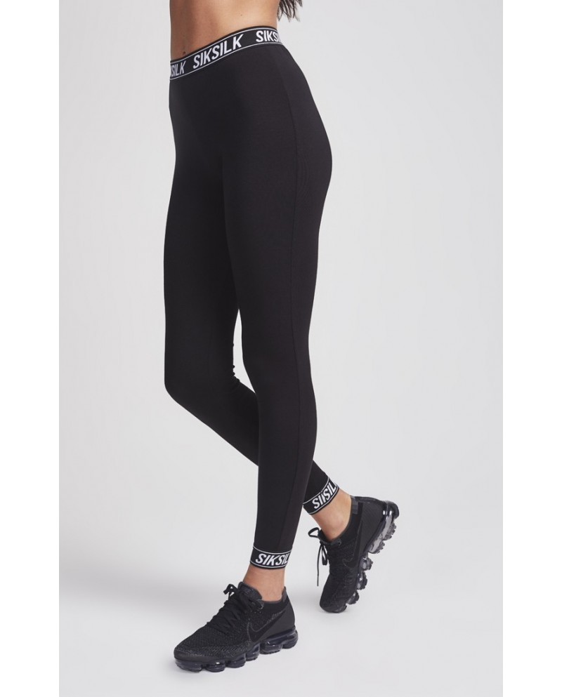 Sik Silk Elastic Cuff Leggings