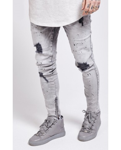 Sik Silk Riot Low Rise Denim
