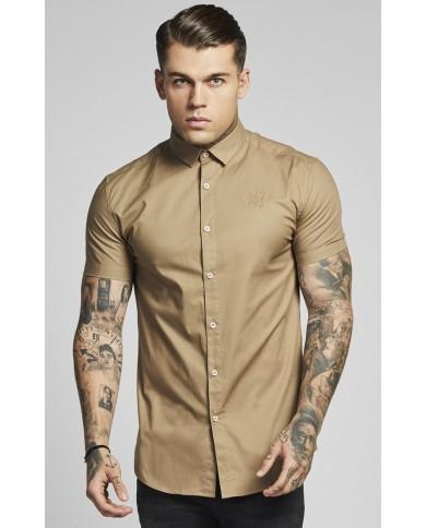 Sik Silk Cotton Stretch Shirt