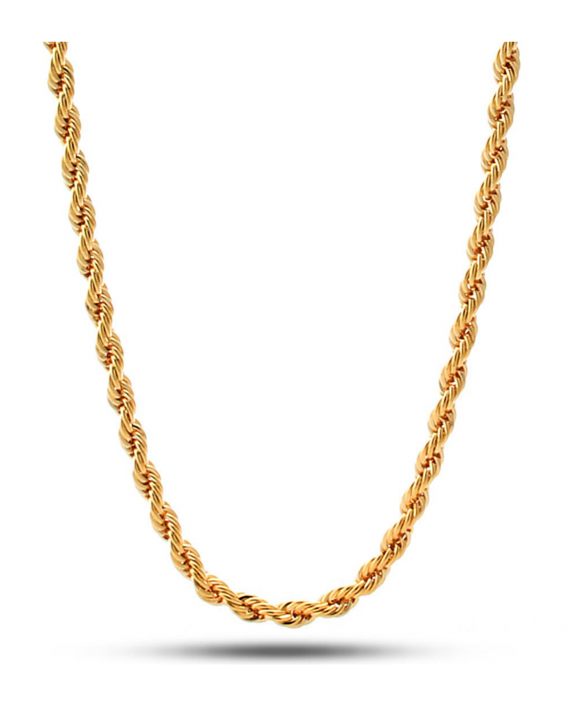 King Ice 4mm 61cm Dookie Rope Chain