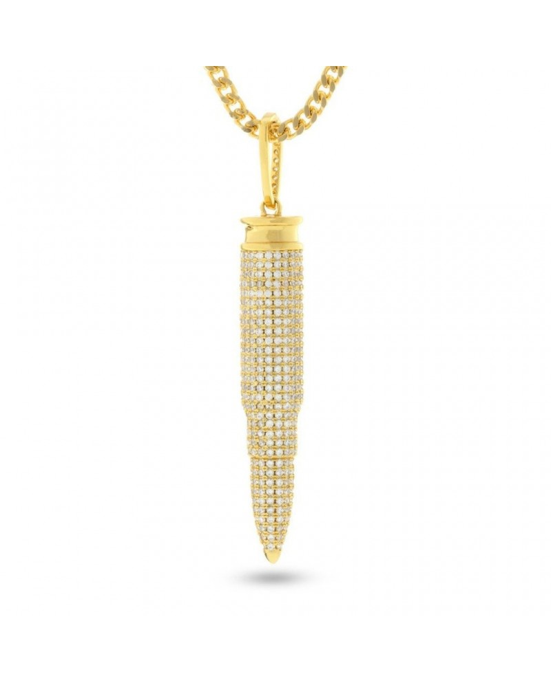 King Ice Bullet Necklace .223 Caliber