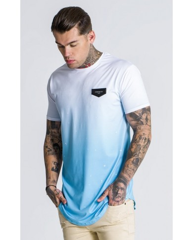 Gianni Kavanagh Light Blue Splats Tee