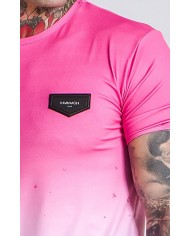 Gianni Kavanagh Pink Marble Faded Tee