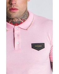 Gianni Kavanagh Light Pink Polo Gold Collection