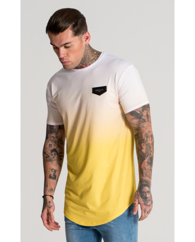 Gianni Kavanagh Yellow Splats Tee