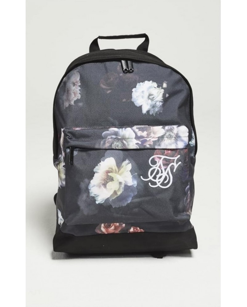 Sik Silk Floral Pouch Backpack