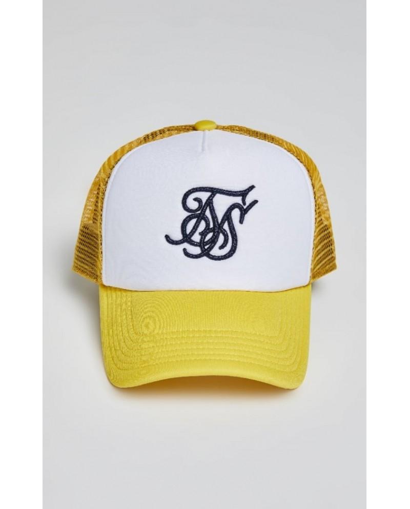 Sik Silk Foam Trucker Cap Yellow