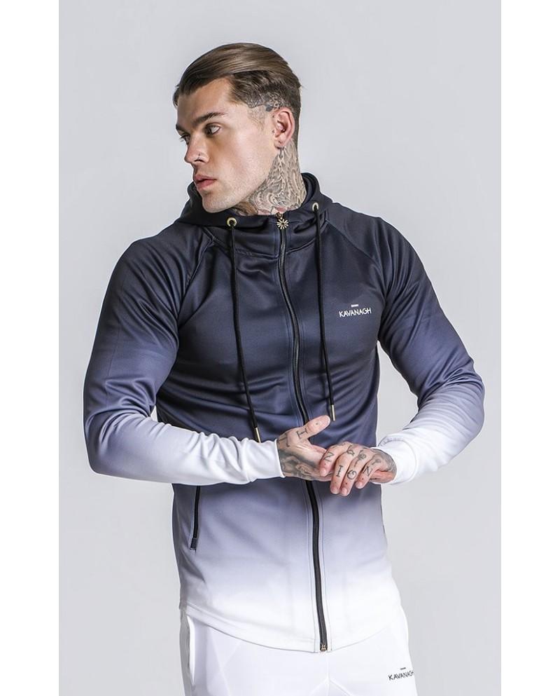 Gianni Kavanagh Black White Fade Jacket