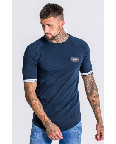 Gianni Kavanagh Navy Tee With GK Elastic