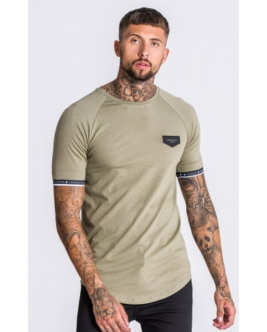 Gianni Kavanagh Dry Green Tee With GK Elastic