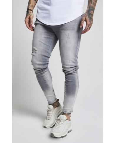 Sik Silk Abrasion Hareem Jeans