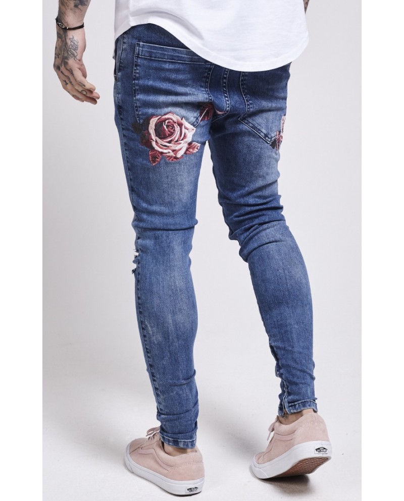 Sik Silk Floral Spring Hareem Jeans