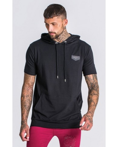 Gianni Kavanagh Black Hooded Tee
