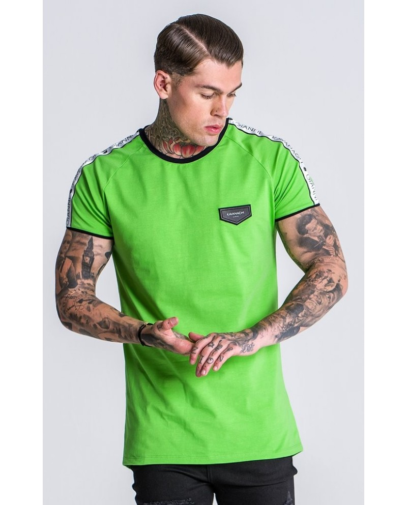 Gianni Kavanagh Green Tee With Ribbon