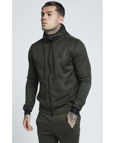 Sik Silk Agility Zip Through Hoodie