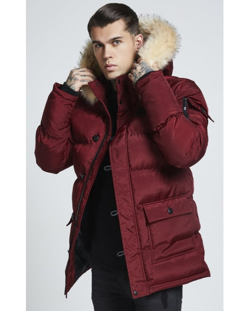 Sik Silk Puff Parka Jacket