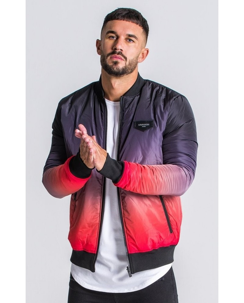 Gianni Kavanagh Black/Red Reversilble Jacket