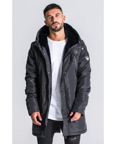 Gianni Kavanagh Black Down Coat