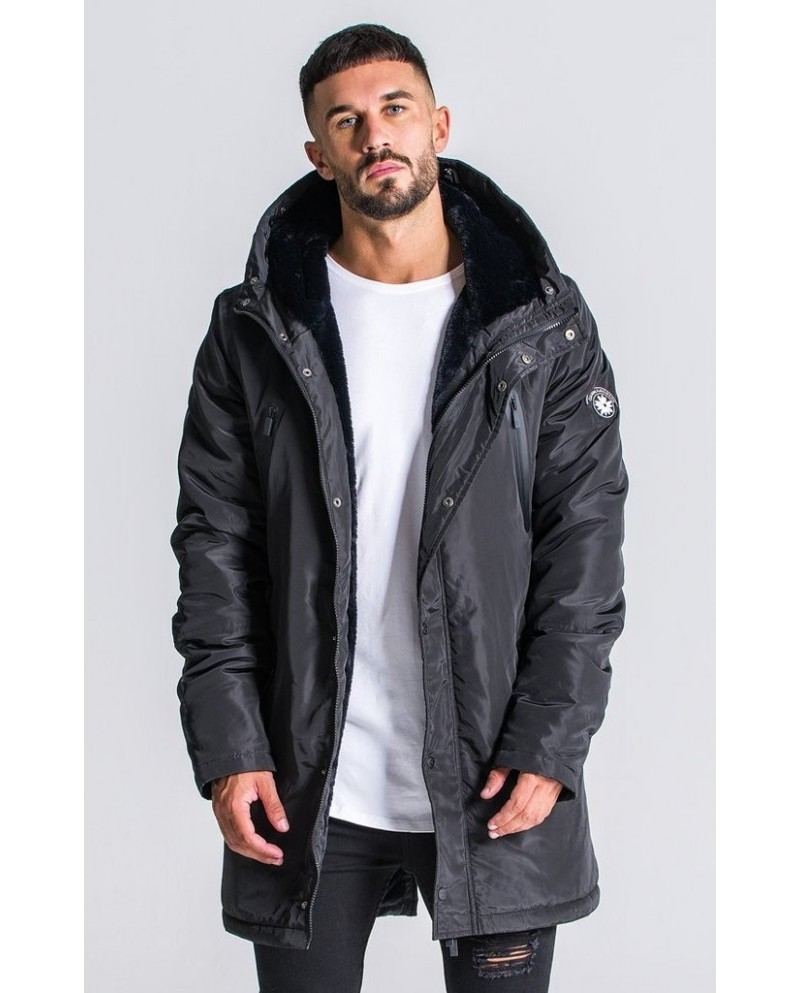 Gianni Kavanagh Black Down Coat