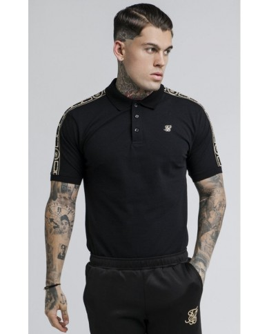 Sik Silk Cartel Grandad Collar Shirt