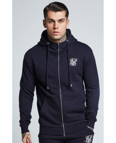 Sik Silk Muscle Fit Zip Jacket