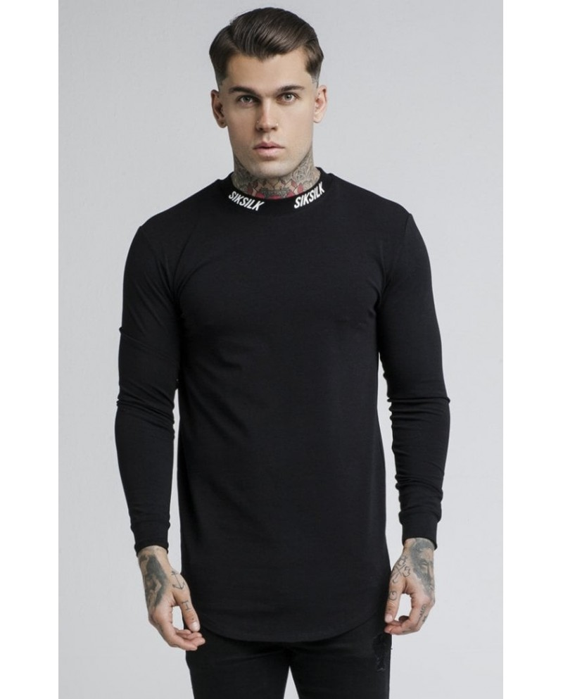 Sik Silk Turtle Neck