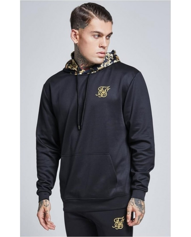 Sik Silk Poly Tricot Overhead Hoodie