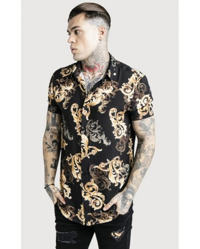Sik Silk x Dani Alves High Collar Resort Shirt