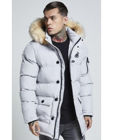 Sik Silk Puff Parka Jacket