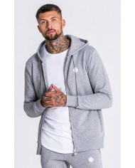 Gianni Kavanagh Core Grey Jersey Tracksuit Jacket