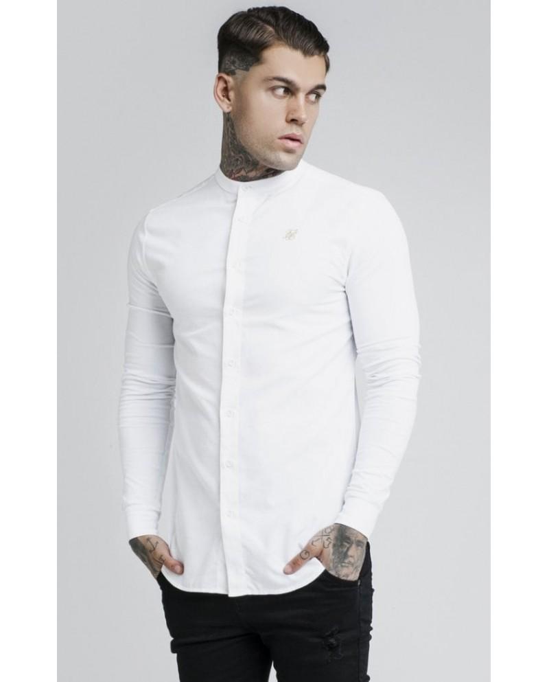 Sik Silk Grandad Shirt