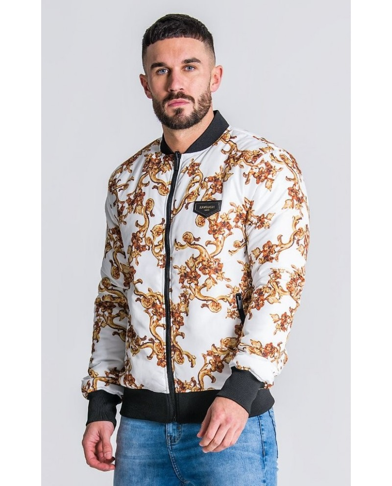 Gianni Kavanagh Baroque Reversible Bomber Jacket