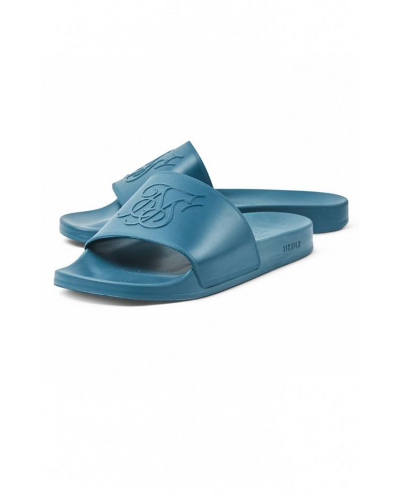 Sik Silk Slides Teal
