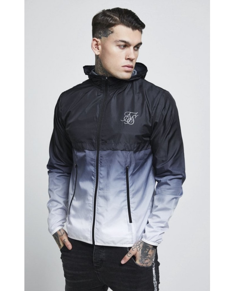Sik Silk Windrunner Black & White