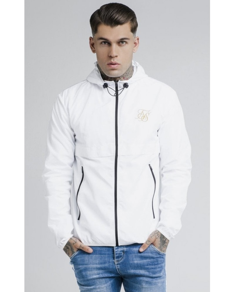 Sik Silk Windrunner White
